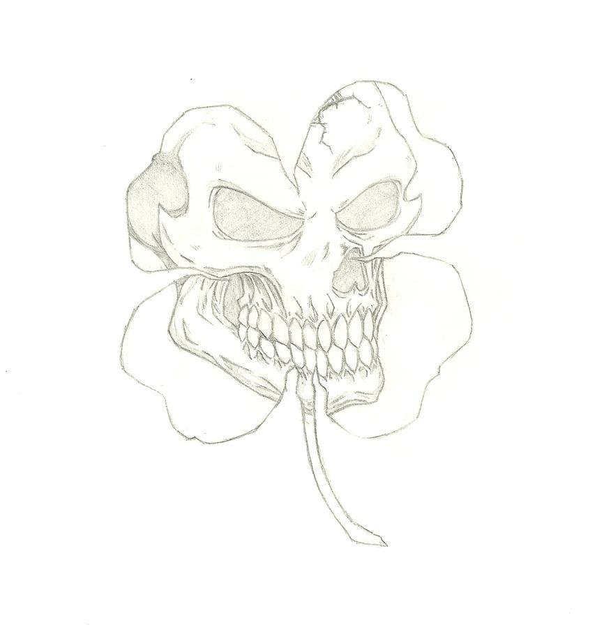 skull clover 2 by THEGODSLAYER91