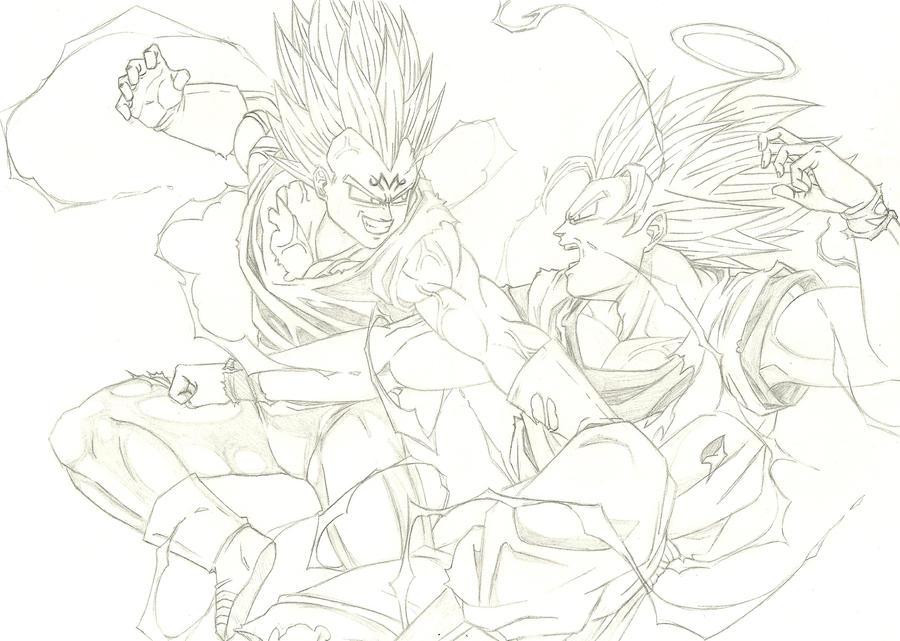 epic battle by THEGODSLAYER91