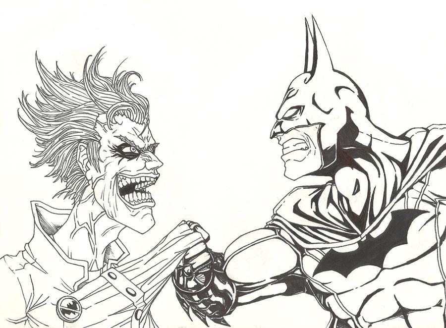 Joker Batman by THEGODSLAYER91