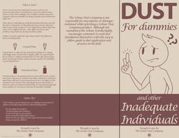 RWBY - DUST For dummies pamphlet