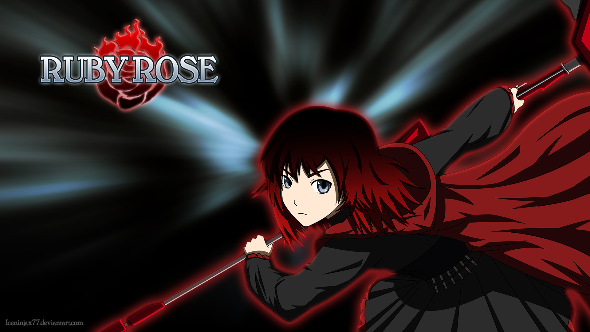 Rwby Ruby Wallpaper RWBY - Ruby Rose Mystic Arte