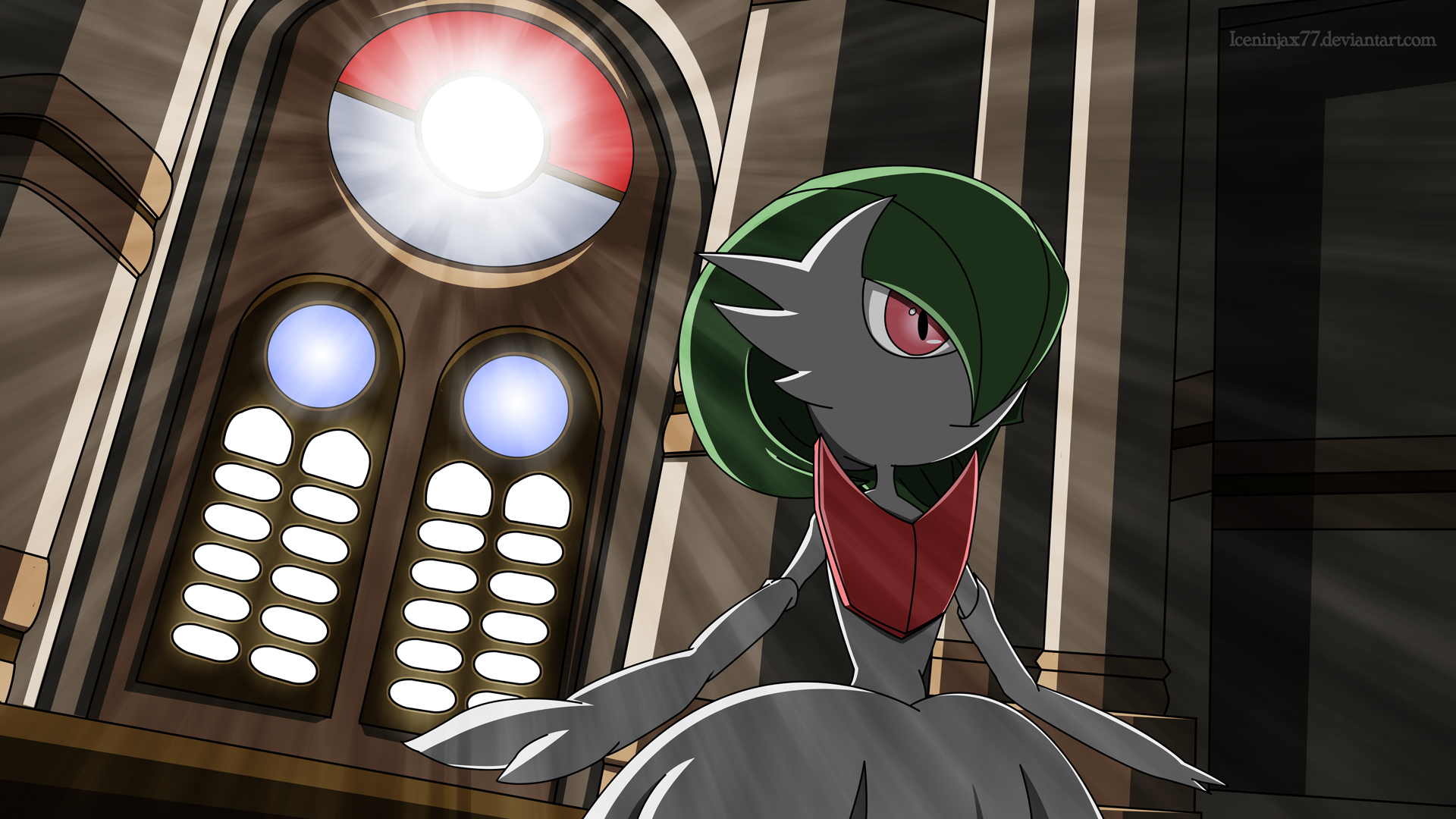 Pokemon X and Y - Mega Gardevoir by IceNinjaX77