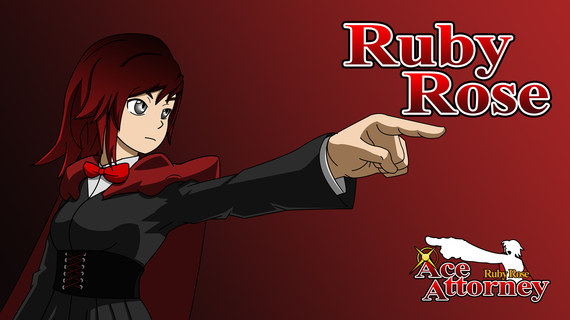Ruby Rose Ace Attorney Ruby Wallpaper By Iceninjax77 On Deviantart