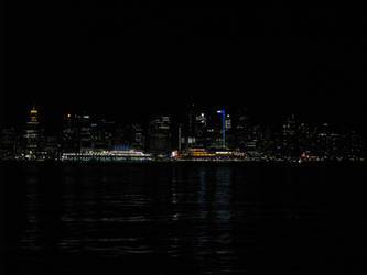 Vancouver At Night by Indelibly-Yours