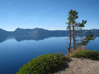 Rim of Crater Lake by Indelibly-Yours