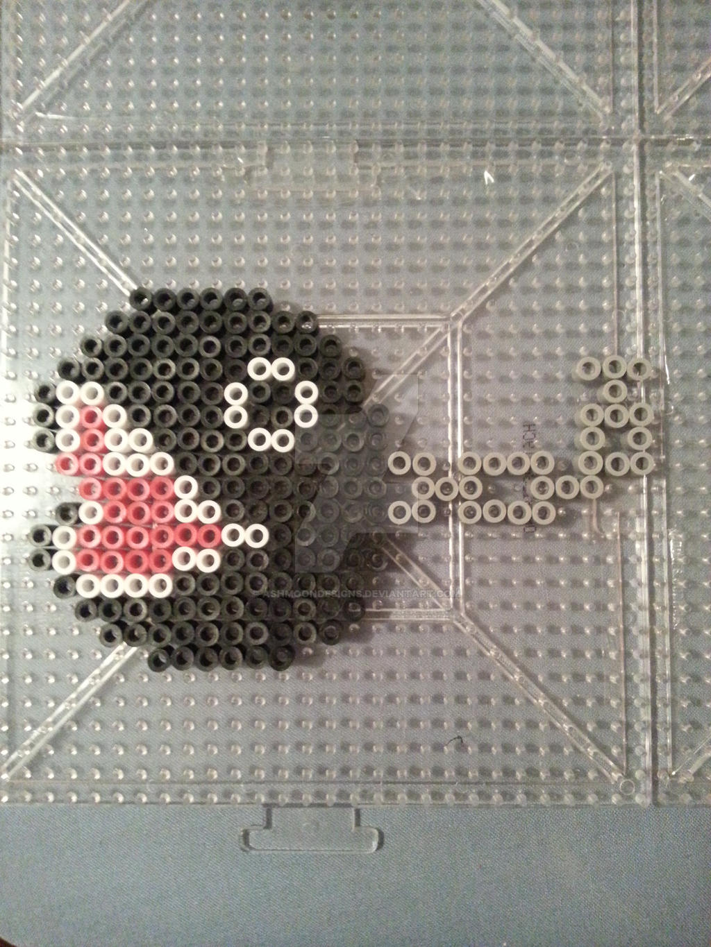 Chain Chomp Perler Bead Figure By Ashmoondesigns On Deviantart