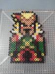 Final Fantasy VI Kefka Perler Bead Figure