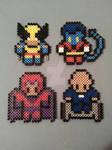 X-Men Perler Bead Figures 1/3