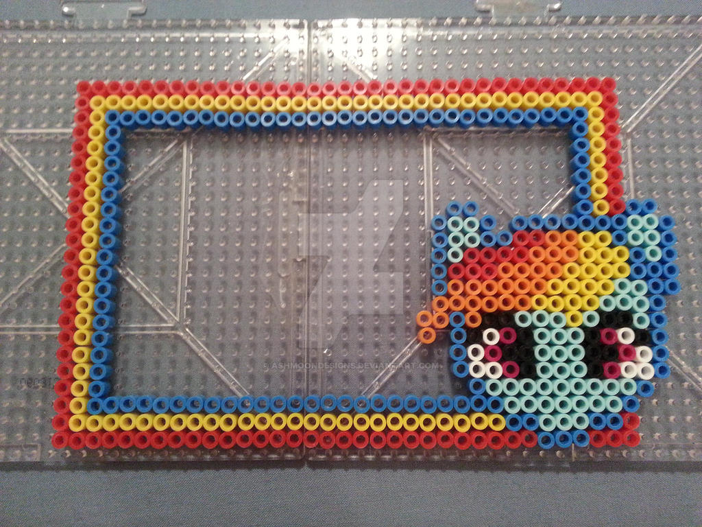My Little Pony Rainbow Dash Perler Bead Frame By Ashmoondesigns On