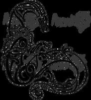 [C] Nordic Style Tattoo of a Draki by Minewolf2105
