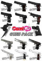 ComiPo! Guns Pack by AKIO-NOIR