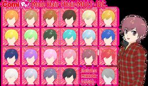 Male Hair for ComiPo (Hair-M01) - DL (CSU VERSION) by AKIO-NOIR