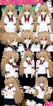 Female Hair (Hair-F01) Preview 2 - Updated by AKIO-NOIR