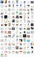e3paper ComiPo Stuff Pack - DL by AKIO-NOIR