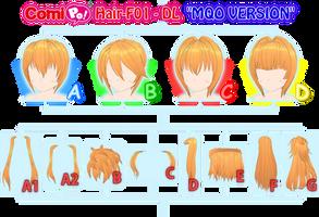 Hair-F01 - DL (MQO VERSION) by AKIO-NOIR