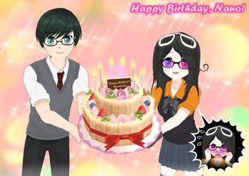 Happy Birthday, Nano! by AKIO-NOIR