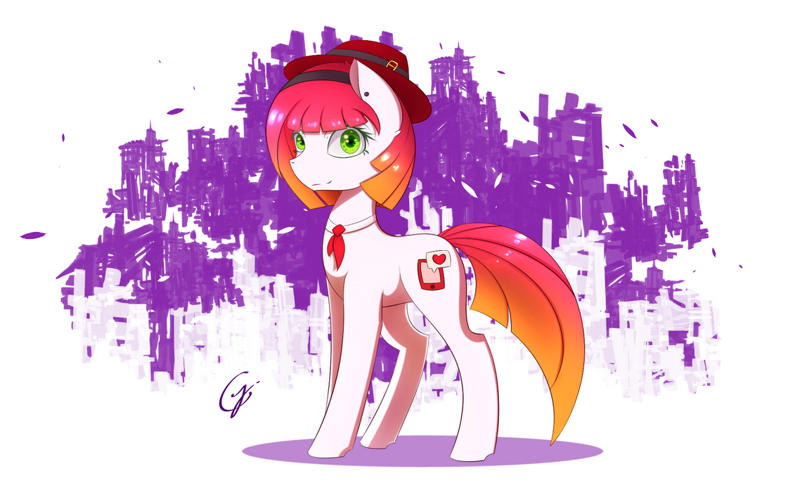 Joey by Laptop-pone