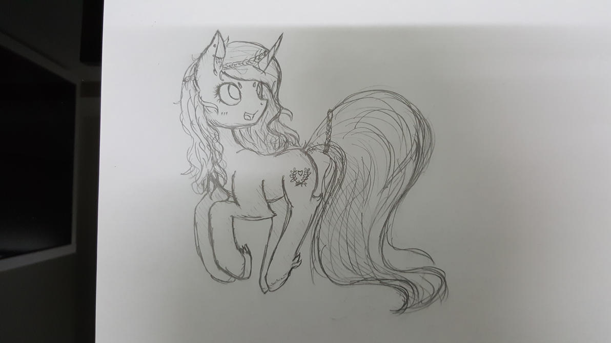 Sketch by Laptop-pone