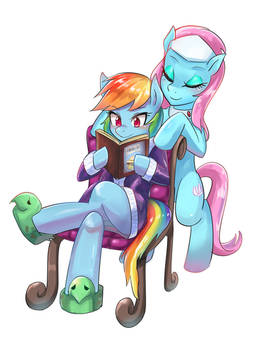 Rainbow Dash at Spa