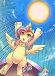 Everypony... Lend me your power! Please!