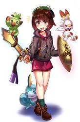 Pokemon Gen 8 (Sword/Shield) by iojknmiojknm