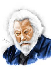 President Snow by SamuelKeck