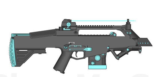 Izi-0 Directed Energy Rifle by Storm-X