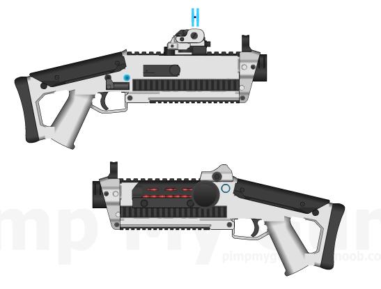 Caroline's BMSTK-16 Shotgun by Storm-X