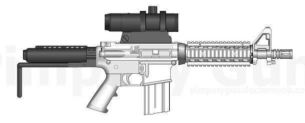 Custom M4 Parts