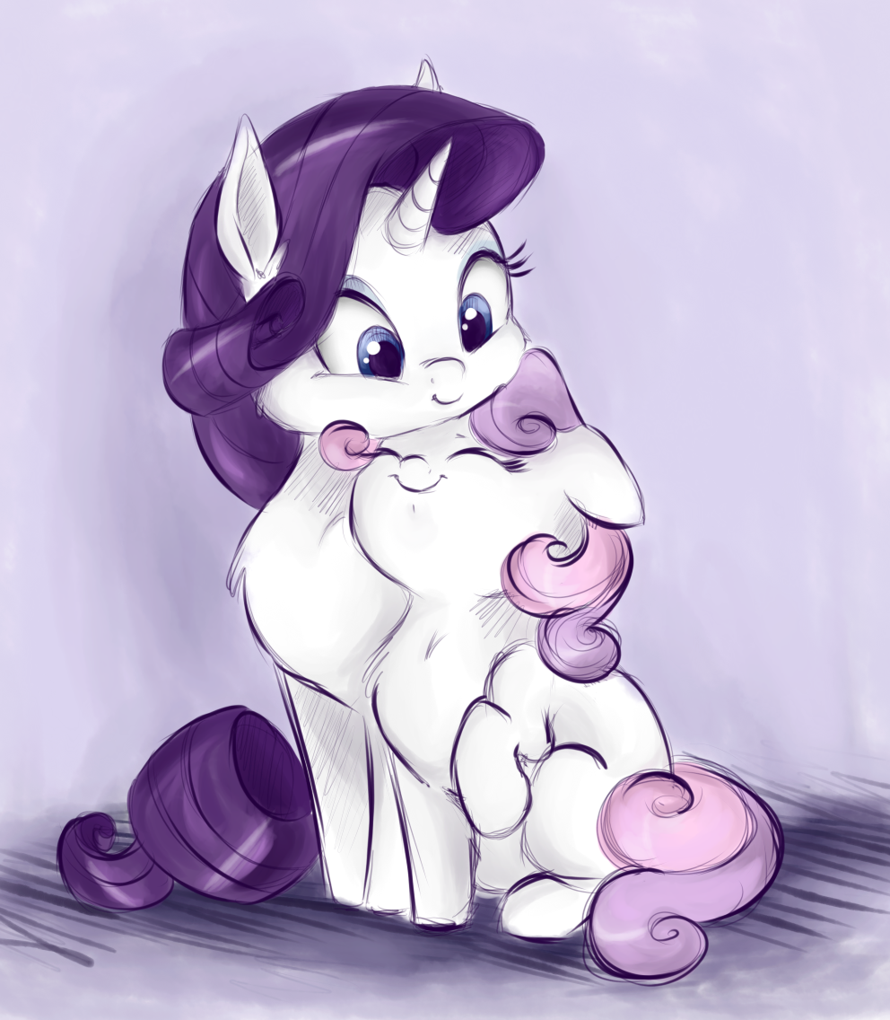 Yes, I love my sister Rarity by ButterSprinkle