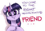 The princess of friendship needs more friends