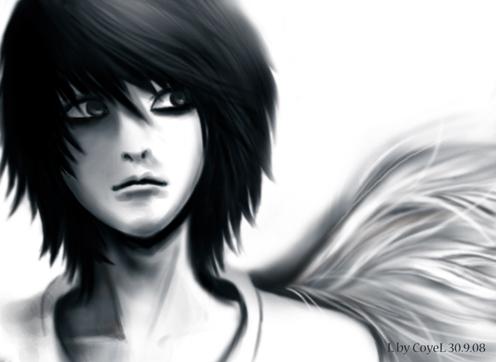 Anime Death Note Fan Art Picturesso