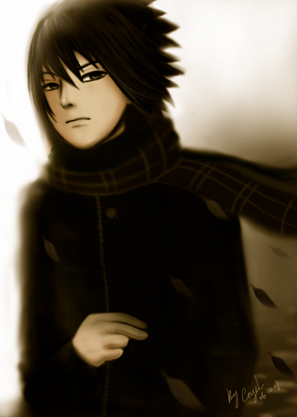 sasuke uchiha-younger brother by CoyeL