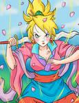 Disney Saiyan Princess (Mulan)