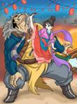 Dragon Kick Mulan