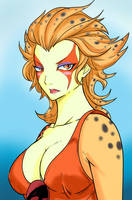 Cheetara by Ray-D-Sauce