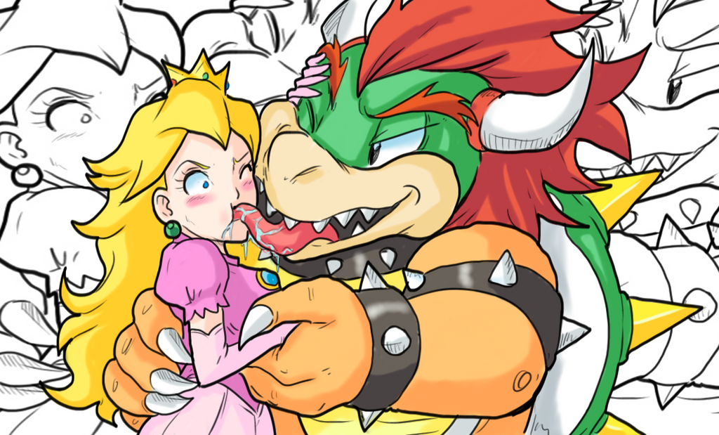 Question Many bowser sex peach