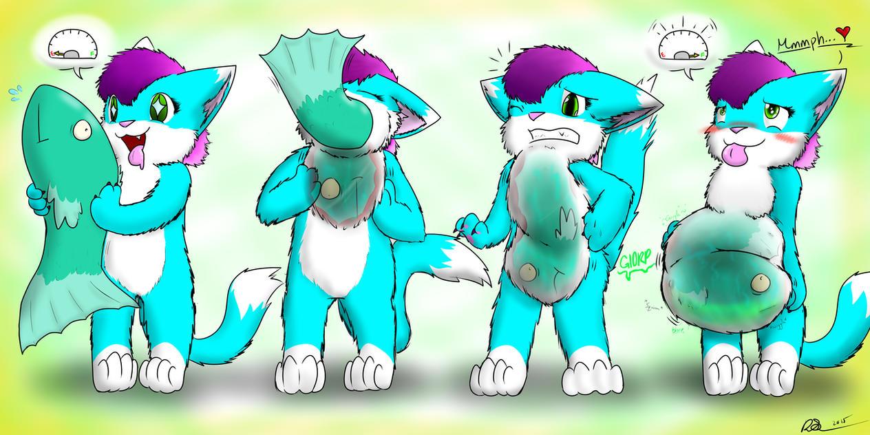Stuffy-Boo's Big Catch *INSIDE VIEW* By PingTheHungryFox