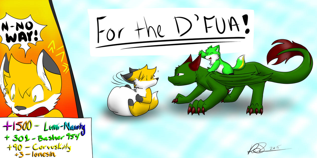 DFUA Post #6! (Points = ???) PART 1 By PingTheHungryFox On
