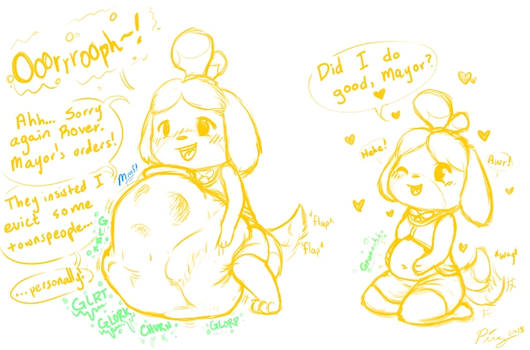 [Warm-Up!] Isabelle Eviction