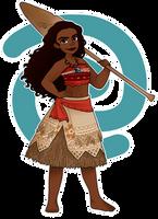 Moana of Motunui by SimpaticasX2