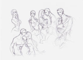 One Piece Lurve sketches 10