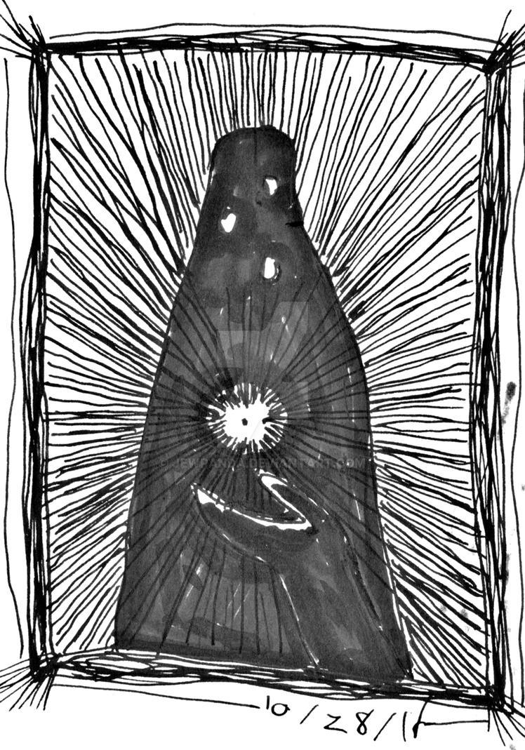 Inktober, Gift by jewpanda
