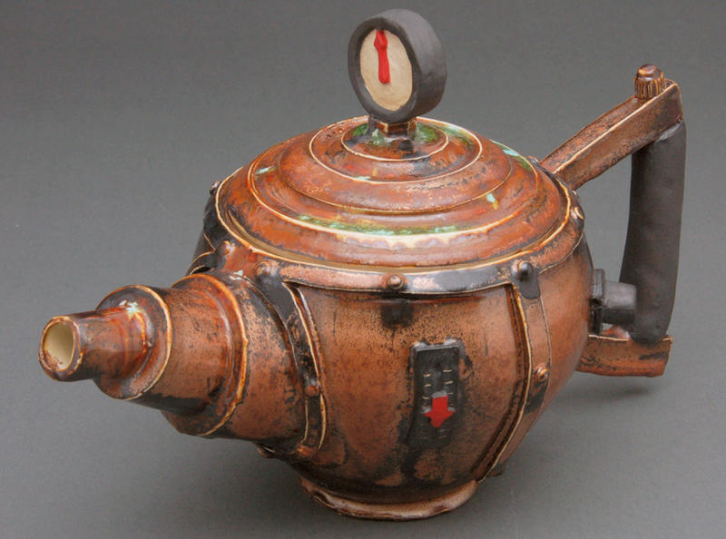 Steampunk Tea Pot 1