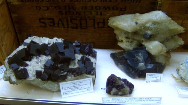fluorite cubes