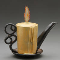 candle tea pot by cl2007