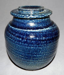 deep blue jar