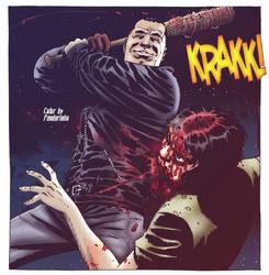 The Walking Dead - Negan Kills Glenn