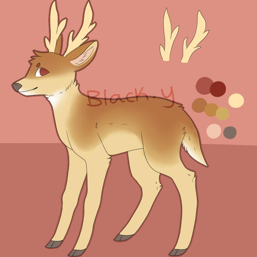 Deer OC Name Needed By Blackiy On DeviantArt