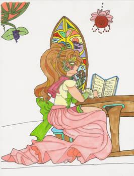 Masquerade of Souls- Sailor Io the Scribe